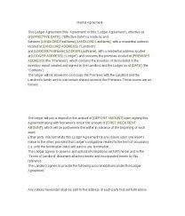Resume Addendum Lease Addendum Form Third Party Financing Addendum Third Party