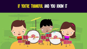 if you re thankful and you it song for thanksgiving