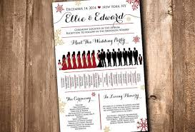 winter wedding programs best wedding program fans products on wanelo