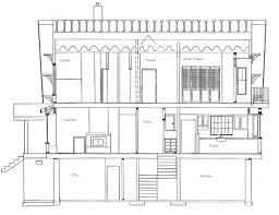 Sketch Floor Plan How To Draw House Cross Sections