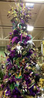 arcadia floral and home decor mardi gras themed christmas tree christmas lights decoration