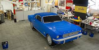mustang size legoland florida made a 1964 ford mustang size replica