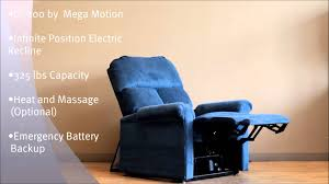 Electric Recliner Lift Chair Lc 100 Electric Power Recliner Lift Chair By Mega Motion