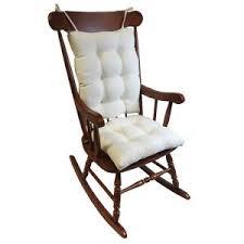 Ivory Chair Gripper Omega Ivory Jumbo Rocking Chair Cushion Set 849307xl 20