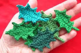 amigurumi leaf pattern attic24 jolly holly
