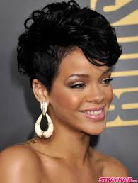 rihannas many great short hairstyles u2013 strayhair