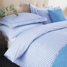 blue gingham duvet cover the duvets