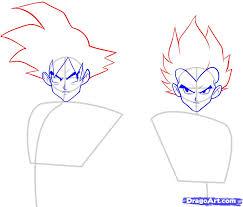 imagenes de goku para dibujar faciles con color como dibujar a goku vegeta y gotenks ssj3 arte taringa