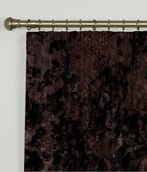 How To Measure For Pinch Pleat Drapes Pencil Pleat Curtains Crush Velvet Chocolate Windows Pinterest