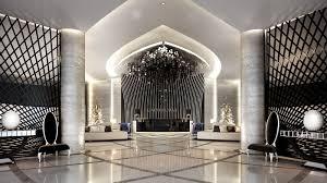 Hotel Interior Design Main Lobby Interior Design On Behance