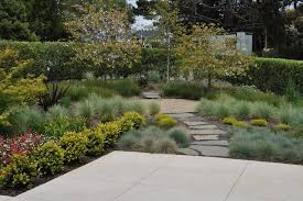 grass landscape design landscape rustic with ornamental grass wood