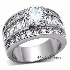 wide band engagement rings wide band engagement ring ebay