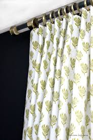 Drape Hardware Acrylic Curtain Rods With Brass Hardware Driven By Decor