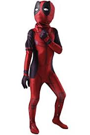 amazon com kids deadpool costume boy halloween cosplay bodysuit