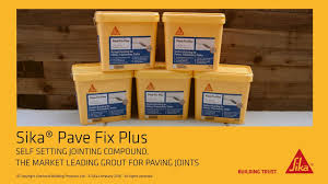 Patio Jointing Compound Sika Pave Fix Plus Youtube