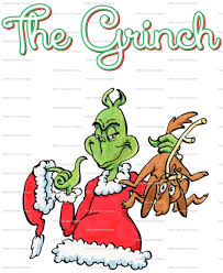 dr seuss how the grinch stole christmas iron on heat