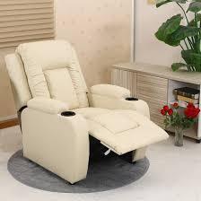 Armchair Sofa Oscar Leather Recliner W Drink Holders Armchair Sofa Chair