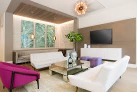 Modern Miami Furniture by Brickell Group Construction The Modern Miami