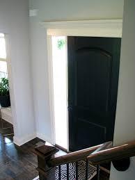 Interior Door Colors by Life Love Larson Black Interior Front Door