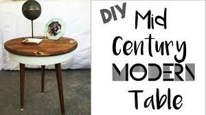 Diy Mid Century Modern Coffee Table Mid Century Modern Table Diy Youtube