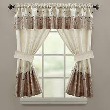 Bed Bath And Beyond Window Valances Croscill Magnolia Bath Window Curtain Panel And Valance Bed