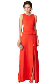 charlize gown by bcbgmaxazria for 99 rent the runway