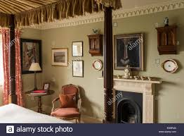 bed fireplace four poster stock photos u0026 bed fireplace four poster