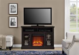 dorel home furnishings chicago espresso fireplace tv stand