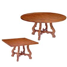 Square Pedestal Table Square To Round Tables Archives Fremarc Designs