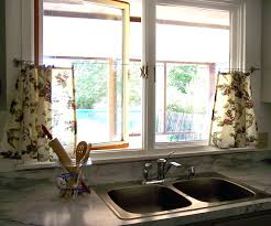 Kitchen Window Ideas Kitchen Window Curtain Ideascurtains For Two Different Sized