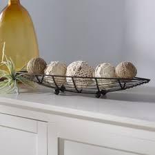 decorative bowls for tables metal decorative bowls you ll love