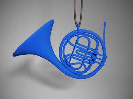 blue horn pendant phub5fanf by edrice