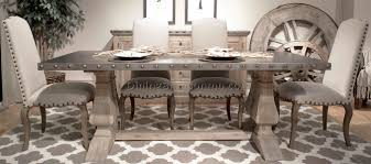 Distressed Pedestal Dining Table Best Distressed Dining Room Tables Contemporary Rugoingmyway Us
