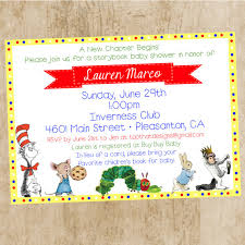 storybook themed baby shower baby shower invitations book themed baby shower invitations