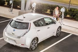 nissan leaf key battery high cost per mile of electric vehicles hurts sales in key markets