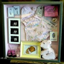 baby shadow box diy birth baby shadow box baby