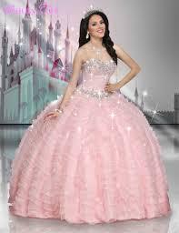 beautiful quinceanera dresses pink beaded sweetheart princess