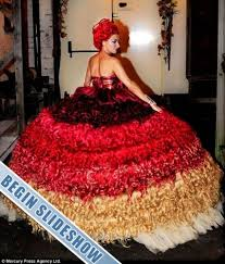 disgusting wedding dresses wedding dresses you won t believe wore