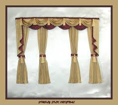 fancy curtains 31bay window curtains made on a pliable pelmet
