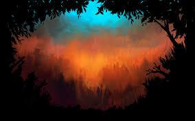 halloween document background image spirits background forest jpg steam trading cards wiki