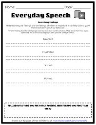 describing feelings everyday speech everyday speech