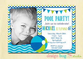 Birthday Invitation E Cards Pretty White Themed With Barbie Themed Birthday Pool Party