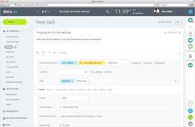 task planner template bitrix24 free task and project management for teams they will receive email notifications any time the task is updated or its status is changed email recipients are also able to leave comments to tasks