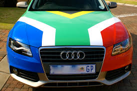 Image Of South African Flag Aiden Choles Driving The Flag Some Thoughts