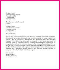 sample formal letter format formal business letter format
