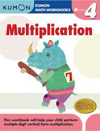 kumon publishing kumon publishing grade 4 mulitplication
