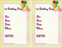 creating birthday invitations online image collections