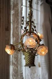 Basket Chandeliers Antique Chandelier All Things Pinterest