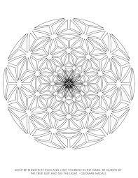 sacred geometry coloring pages eson me