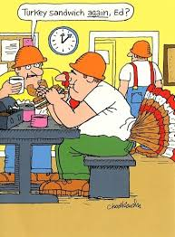 thanksgiving aftermath turkey humor gagster chod reports